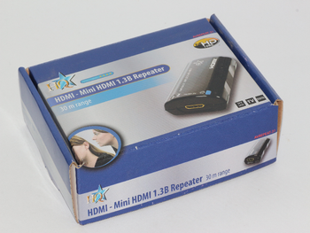 HDMI to MINI HDMI Repeater Extender With HDCP  Extends Cables Up To 30m