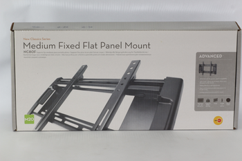 OmniMount NC80F Premium Medium Fixed Flat Panel Wall Bracket For 23-42 Inch Sets
