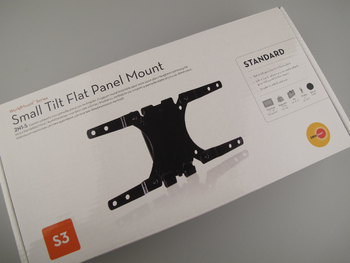"Omnimount 2N1S LCD Flat Panel Tilting Wall Bracket 13"" - 32"" / VESA 75, 100, 200"