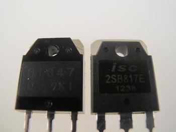 2SD1047 / 2SB817 NPN / PNP  Planar Power Transistor Complimentary Pair