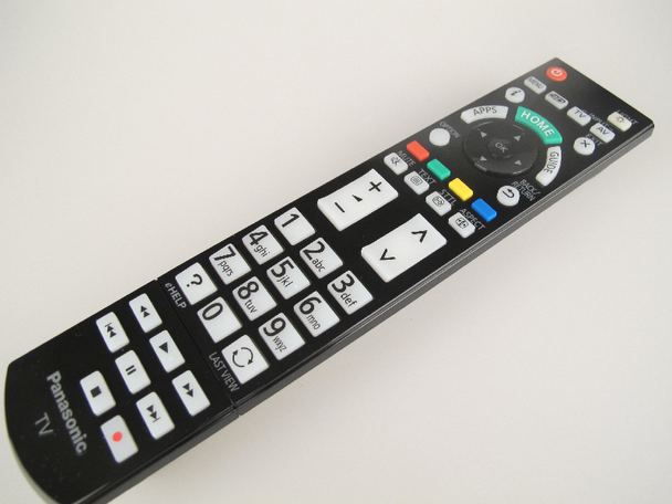 Panasonic N2QAYB000863 Genuine Remote Control, TX-P50GT60B & More Models