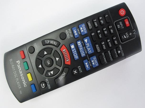 Panasonic N2QAYB000961 BluRay Remote Control For, DMP-BDT360EB-K, DMP-BDT460EB-S