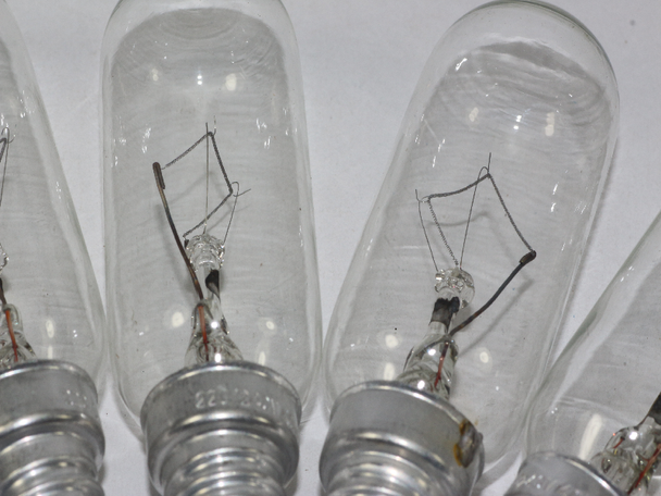 4 x 40W E14 Cooker Hood Oven Appliance Lamp Bulb, Clear 220V - 240V, T25
