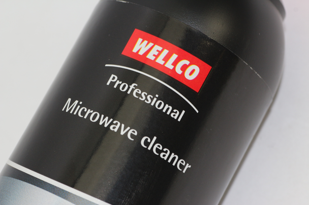 2 x Wellco Professional Microwave Cleaner WEL4006 Removes Grease 300ml Bottle