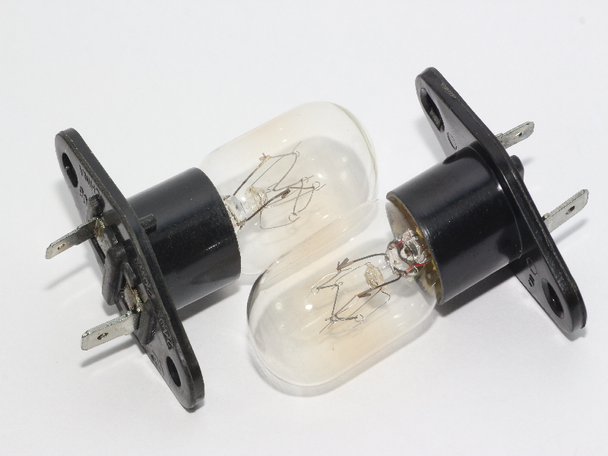 2 x Panasonic Microwave Oven Lamp Bulb Z612E5G10XN, Z612E5G50XN 20W 240V