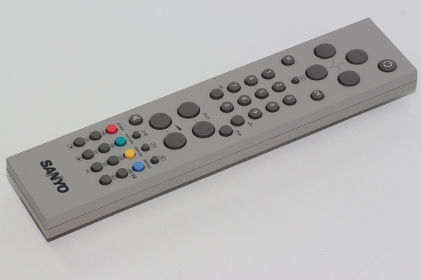 Sanyo Vestel Genuine 20143821 Remote Control, Also Hitachi, Alba, Bush, Technika