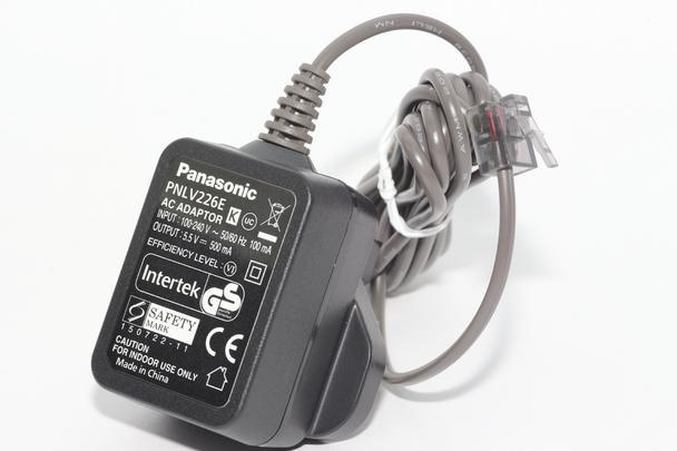 Genuine Panasonic PNLV226E, PNLV226EKX Cordless Telephone Charger 5.5V DC 500mA