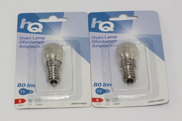 2x 25W OVEN 300°C Heat Resistant SES E14 Small Edison Screw Light Bulbs Pygmy Light Bulbs Home, Furniture & DIY