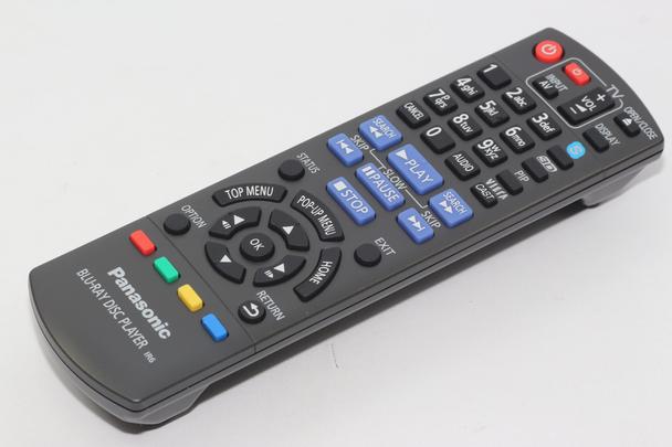 Panasonic N2QAYB000576 Genuine Blu Ray DVD Remote Control DMP-BDT110, DMP-BDT210