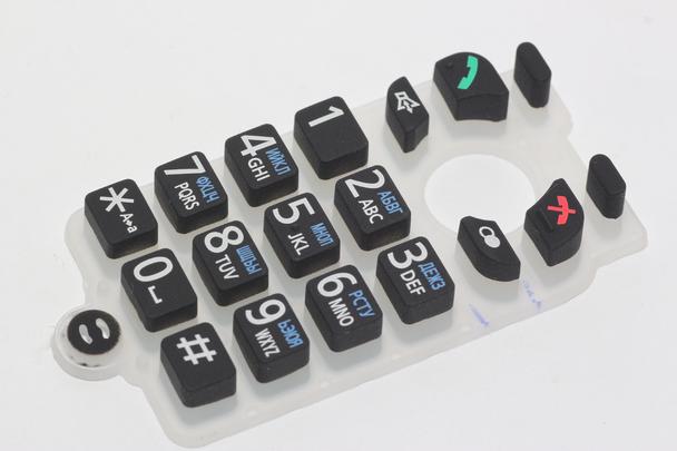 Panasonic PNJK1049U Cordless Telephone Keypad Membrane Switch For KXTGP500