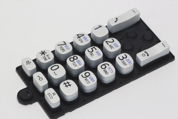 Panasonic PNJK1239V Cordless Telephone Keypad Membrane Switch KXTGC310, KXTGC320