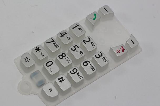 Panasonic PNJK1187T Cordless Telephone Keypad Membrane Switch KXHN6000, KXHNH100