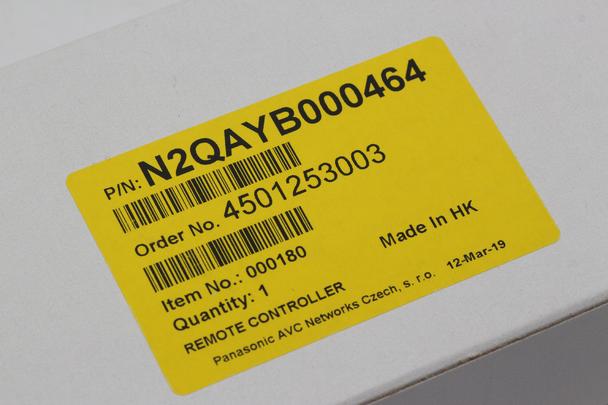 Panasonic N2QAYB000464 Genuine DVD REcorder Showview Remote Control For DMR-EX83