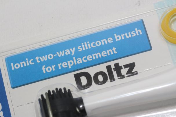 Panasonic Doltz WEW0906 Twin Pack of Ionic Two Way Silicone Brush Head EW-DE92