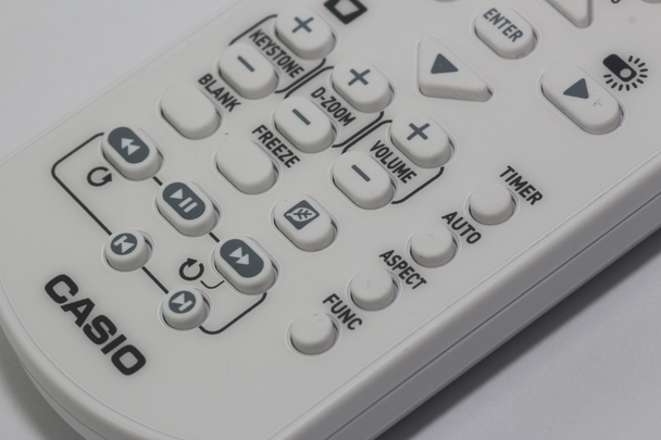 Casio YT-131 Genuine LED Projector Remote Control For XJ-UT351WN