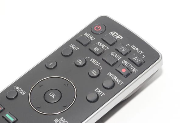 Panasonic N2QAYB000593 Genuine 3D TV Remote Control For TH-42PZH8, TX-P50VT30