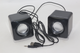 2 x 3W RMS USB Portable Loudspeaker Set from BasicXL, BXL-SP10BL With Line Input