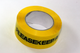 1 x 66m Roll of Keep a Safe Distance Social Distancing Yellow Warning Floor Tape
