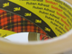 3M Buff packaging tape 66m x 48mm x 6 pack