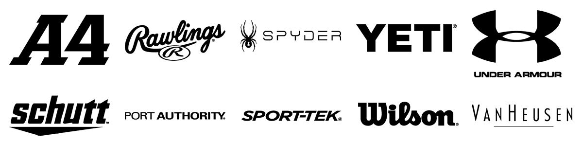 logos of some brands we sell