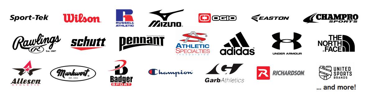 selection of brand logos