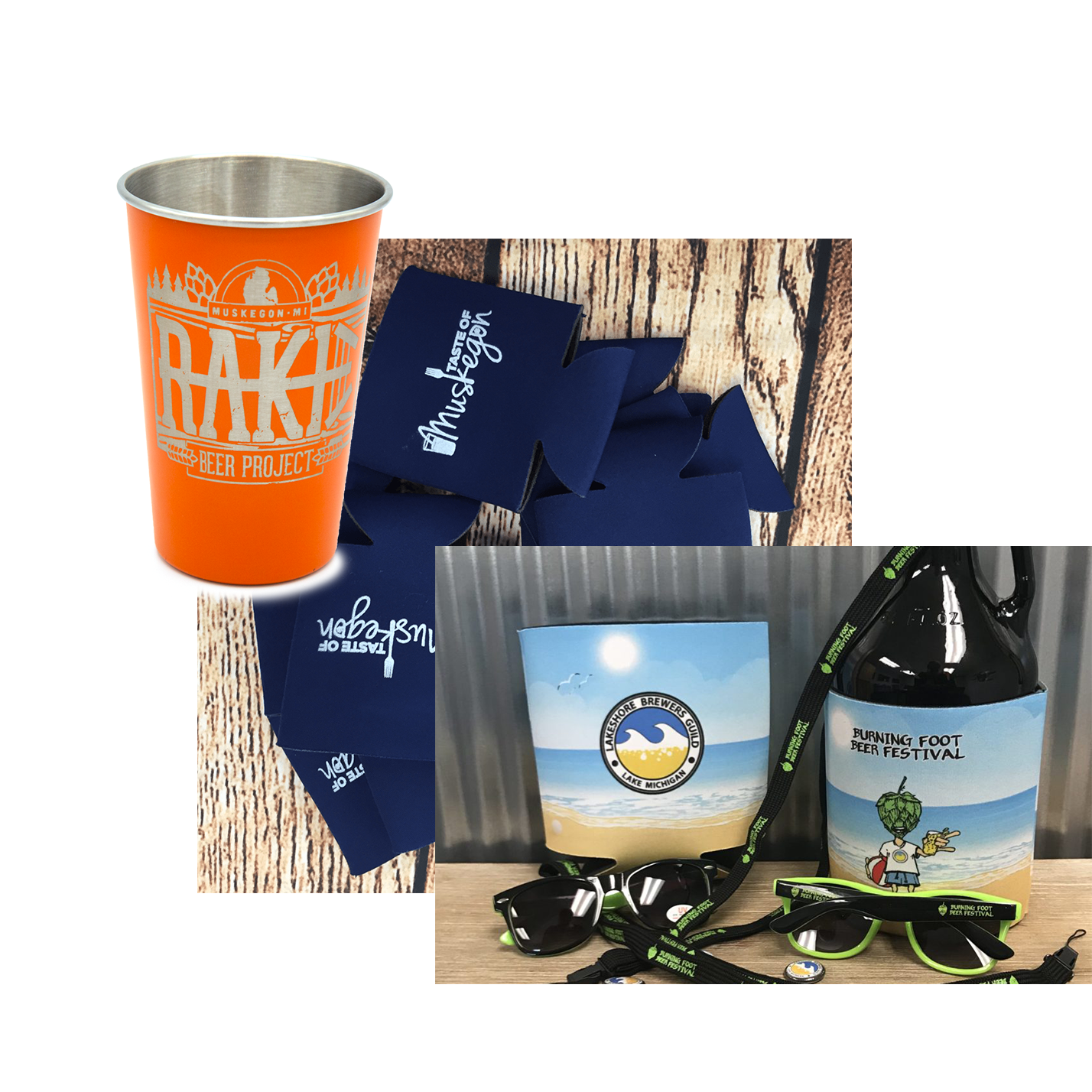 promo items for breweries and restaurants