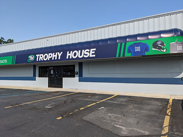 trophy house storefront