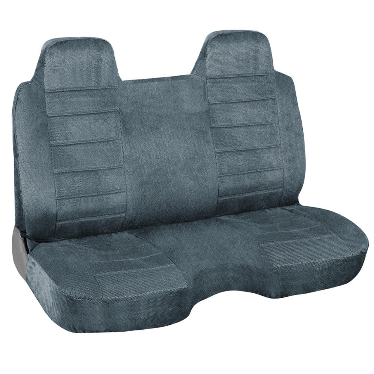 Marvelous Pickup Truck Bench Seat Cover For Stick Shift W Thick Regal Velour Fabric For Built In Headrest Caraccident5 Cool Chair Designs And Ideas Caraccident5Info
