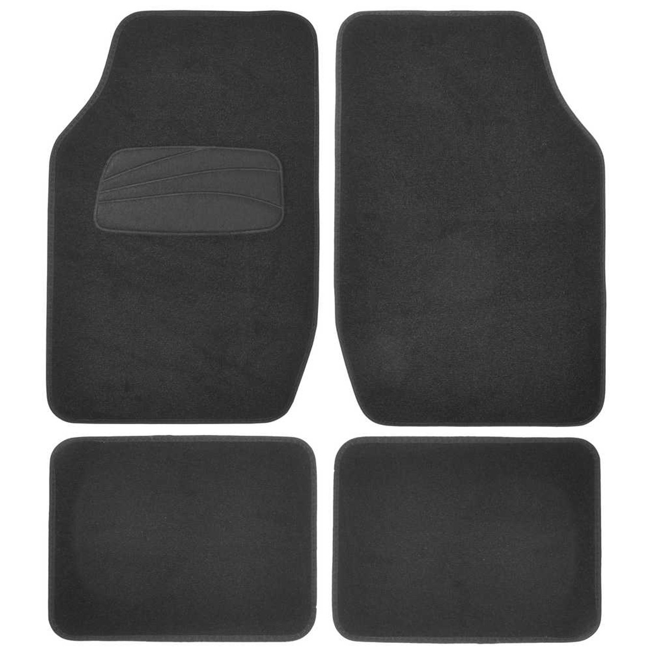All Weather Universal Rear Back Heavy Duty Rubber Runner Floor Mat for SUV