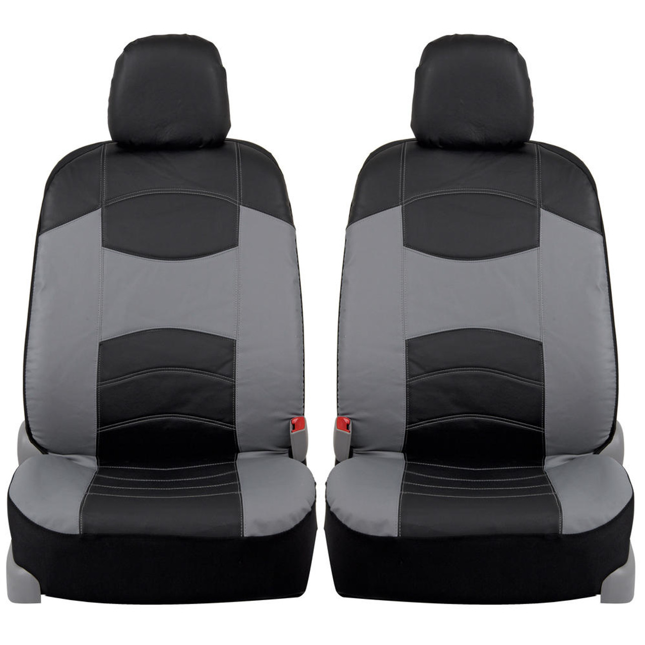 FORD FIESTA VAN 11+ SINGLE HD BLACK SEAT COVERS PROTECTORS CAR SEATS
