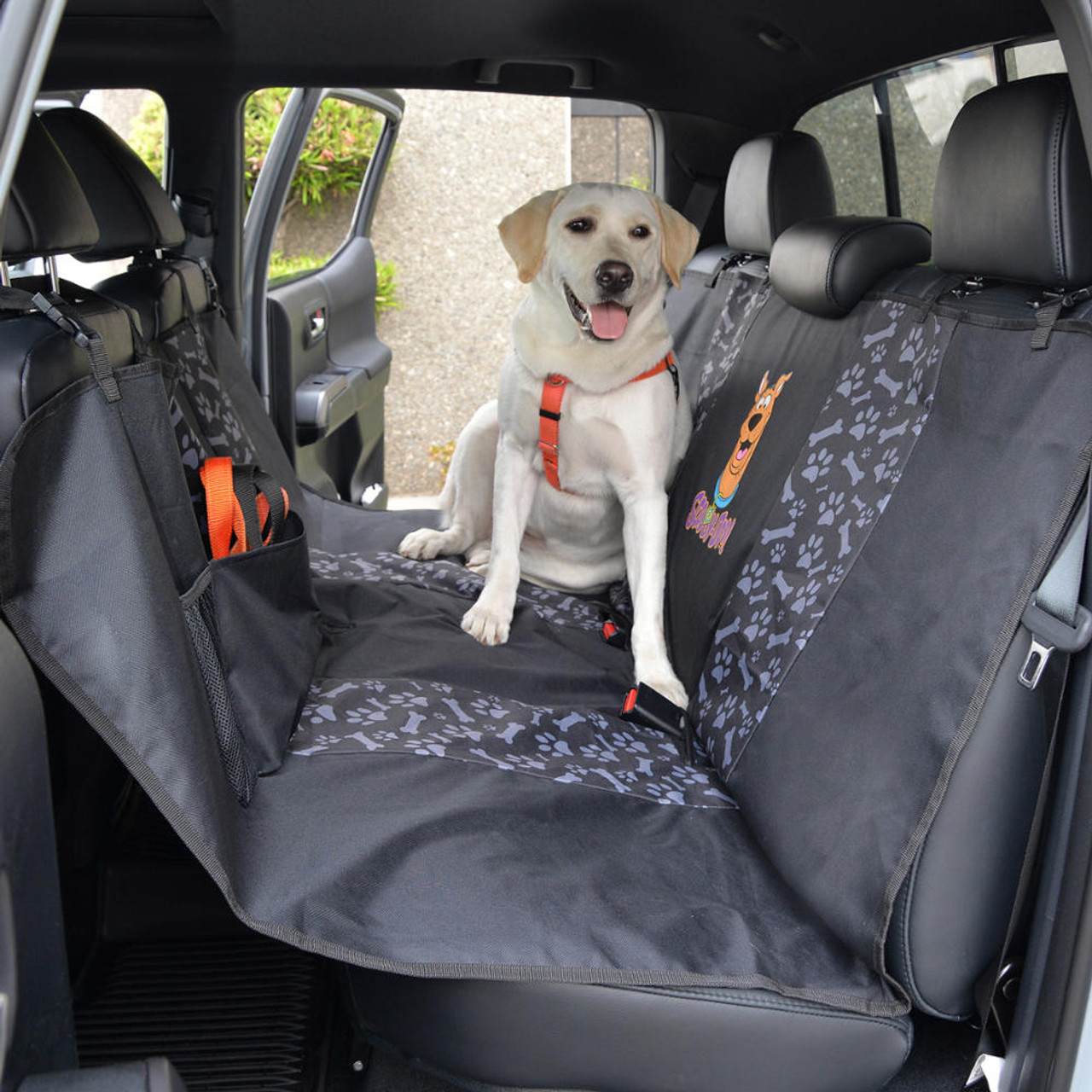 Dog Seat Covers For Trucks >> Scooby Doo Pet Seat Cover For Car Suv Truck 100 Waterproof Protection Double Padded Extendable With Split Zipper Dog Cat Friendly Bench