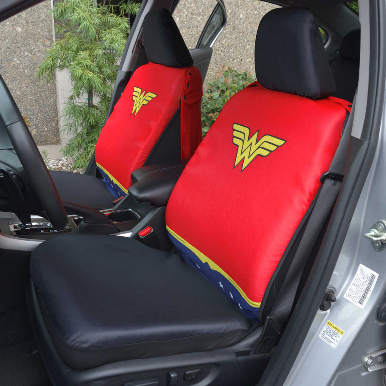 Brilliant Superhero Seat Covers With Detachable Cape Backing Front Car Seat Covers Seat Back Protector Wonder Woman Gamerscity Chair Design For Home Gamerscityorg