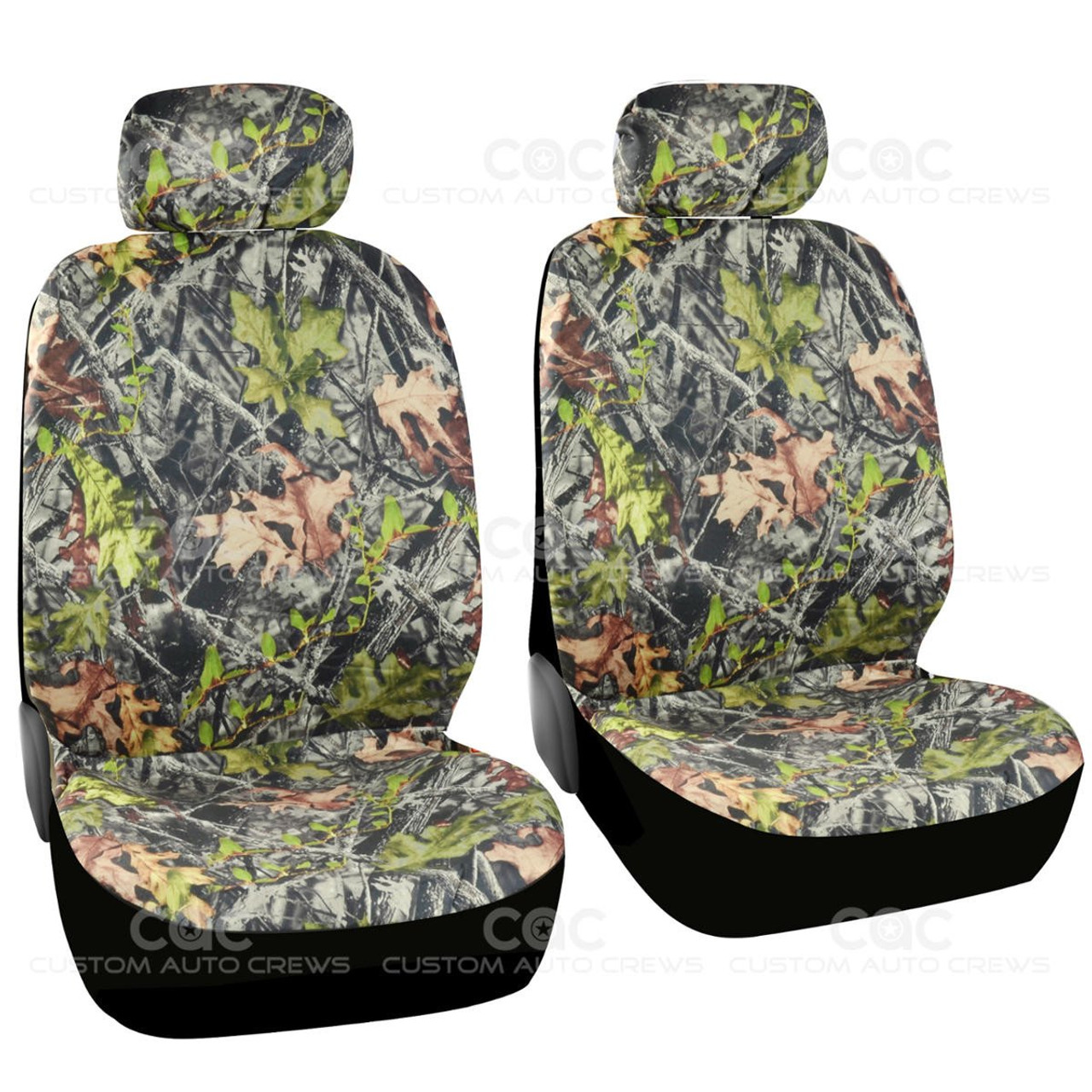 Phenomenal Bdk Hunting Camo Seat Covers 2 Front Seat Protection Low Back Seat Built In Seat Belt Armrest Opening Airbag Safe Uwap Interior Chair Design Uwaporg