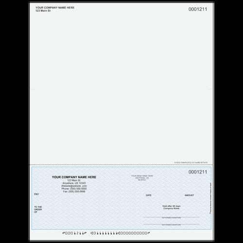 L1211A - Multi-Purpose Bottom Business Check (One Perf)