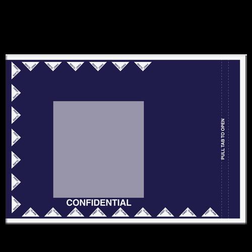 4030 - 12x15 Plastic Delivery Envelope