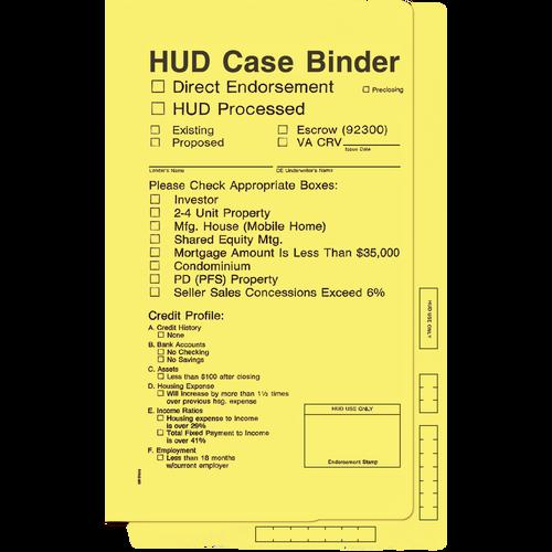 4212 - Hud Case Binder (Yellow)