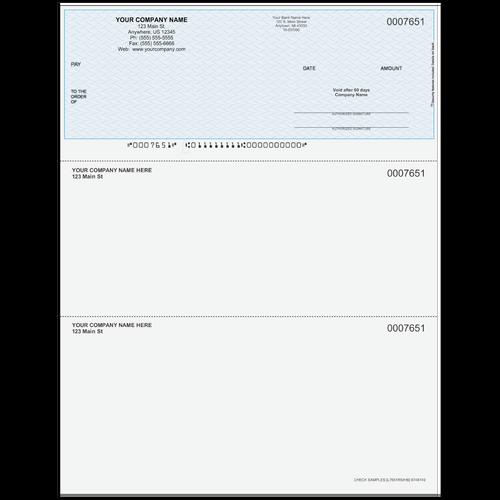 L7651RSI - Multi-Purpose Top  Business Check