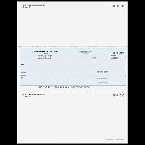 L1395 - Multi-Purpose Middle Business Check