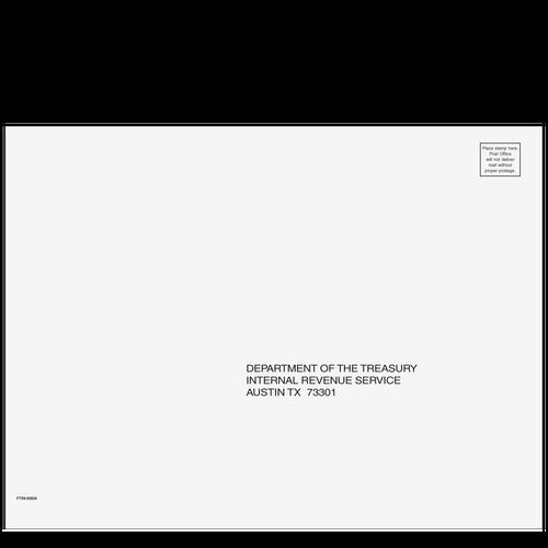FTX910 - 1040 All Returns Envelope - Austin, TX 9 x 12