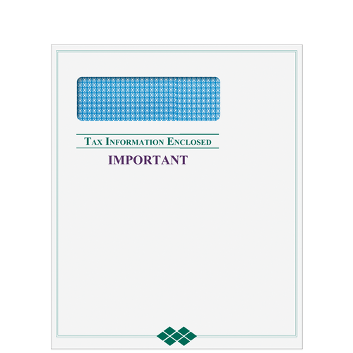 CLNT9E10 - Tax Return Mailing Envelope
