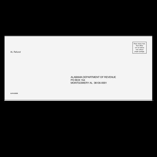 ALR410 - Refund Envelope - Alabama