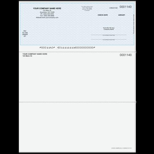 L1140 - Multi-Purpose Top Business Check