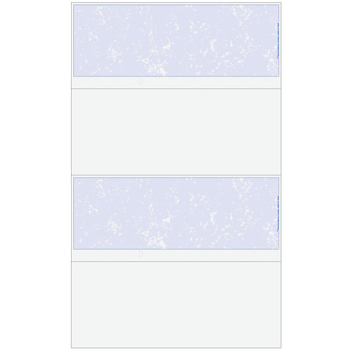 2UPBUSXX - Essential Blank 2up Business Check with Marble Background