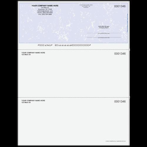 L1346 - Multi-Purpose Top Business Check