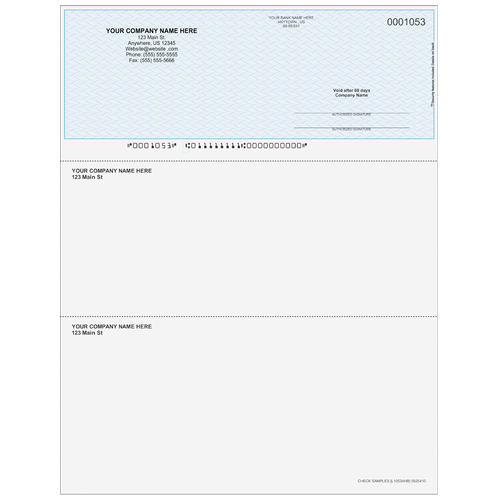 L1053A - Multi-Purpose Top Business Check