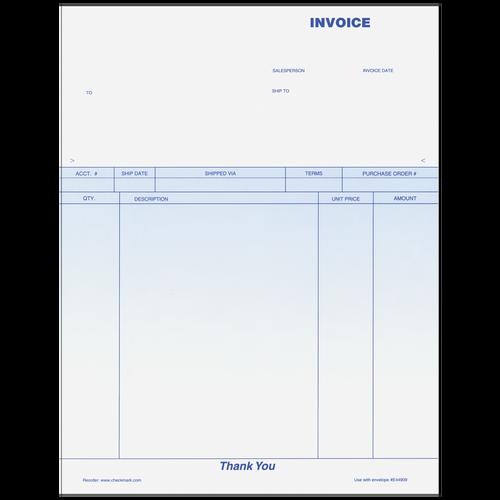 "70019 - 11"" Laser Invoice"