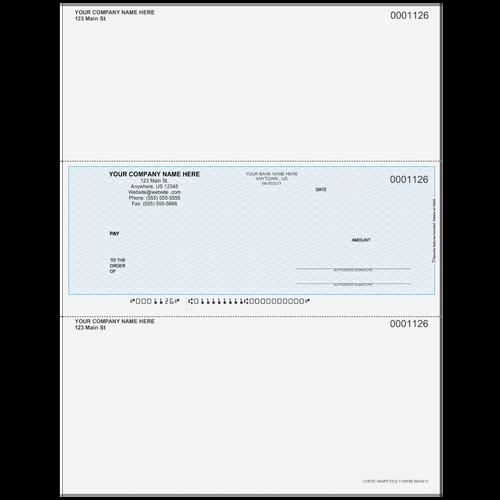 L1126 - Multi-Purpose Middle Business Check