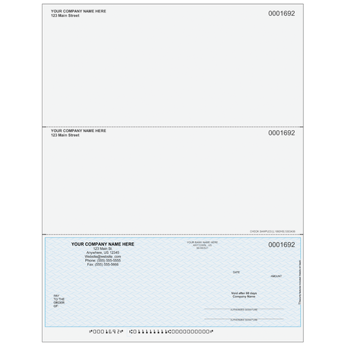 L1692 - Multi-Purpose Bottom Business Check