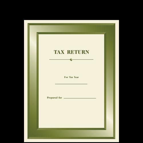 TAXCVR110 - Designer Tax Return Folder