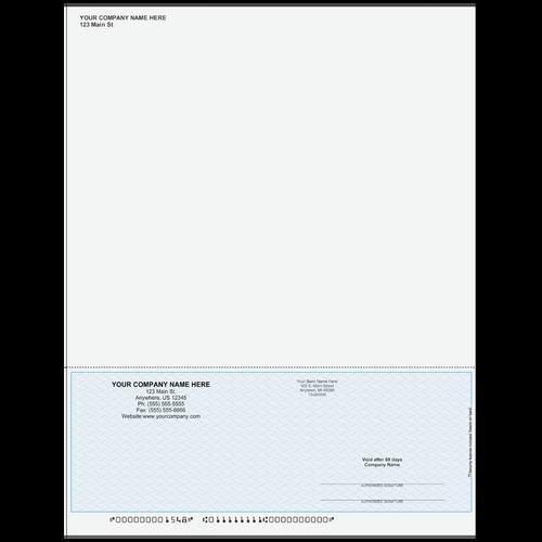 L1548A - Multi-Purpose Bottom Business Check (One Perf)
